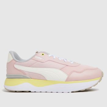 PUMA Pale Pink R78 Voyage Womens Trainers