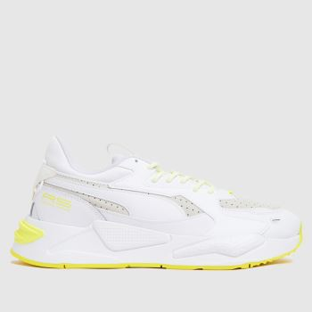 PUMA White Rs-z Reflective Womens Trainers