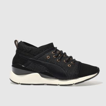 PUMA BLACK & GOLD PEARL VR TRAINERS