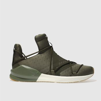PUMA KHAKI FIERCE ROPE VR TRAINERS