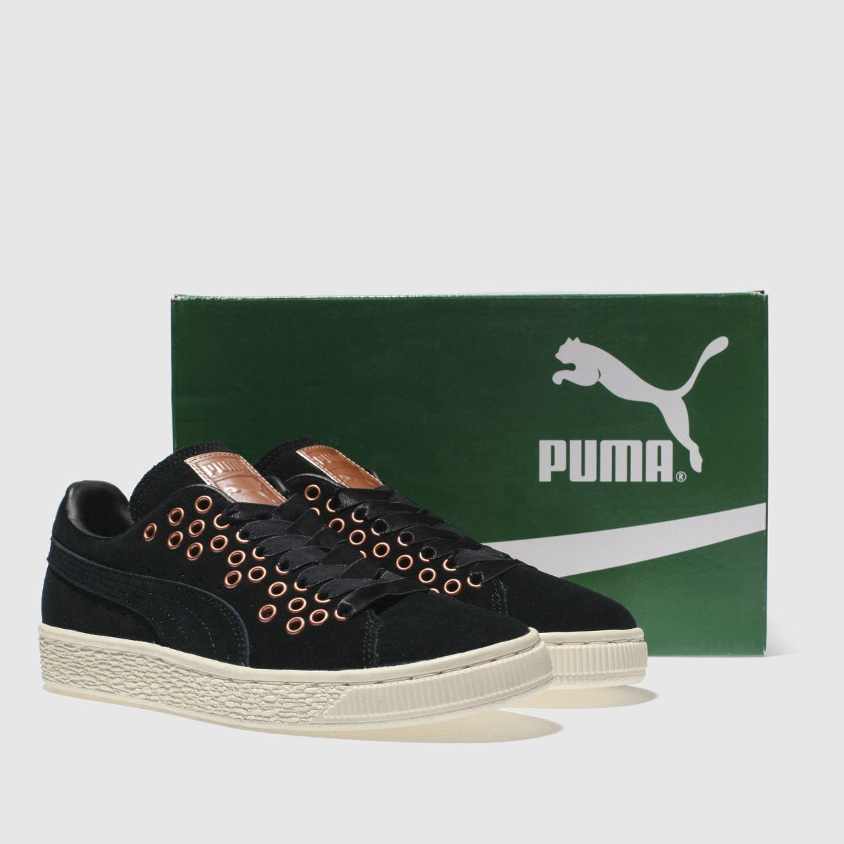 Damen Schwarz-gold Vr puma Suede Xl Lace Vr Schwarz-gold Sneaker | schuh Gute Qualität beliebte Schuhe 8288c9