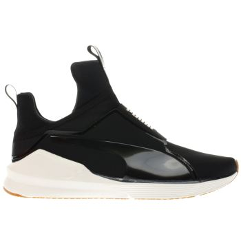 PUMA BLACK & GOLD KYLIE JENNER FIERCE ROPE TRAINERS