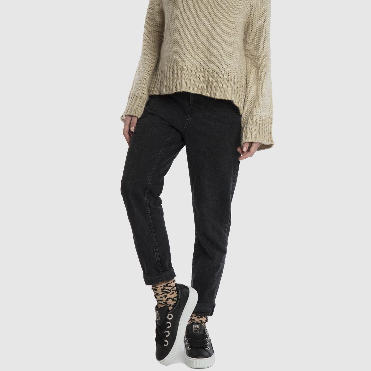 Damen Leather Schwarz puma Platform Kiss Leather Damen Sneaker | schuh Gute Qualität beliebte Schuhe e004e2