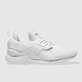 Puma White Muse En Pointe Womens Trainers