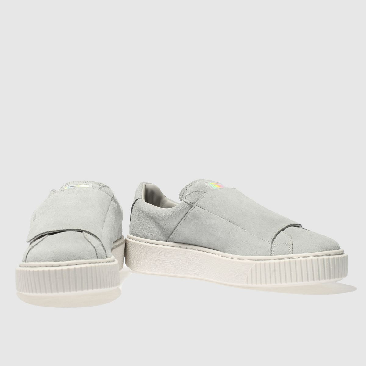 Damen Grau puma Platform Gute Strap Sneaker | schuh Gute Platform Qualität beliebte Schuhe 9a1c6f