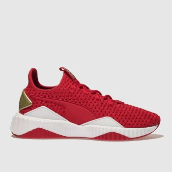 Puma Red Defy Ns Womens Trainers