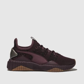 Puma Purple DEFY OPULENCE Trainers