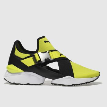Puma Yellow Muse Eso Womens Trainers