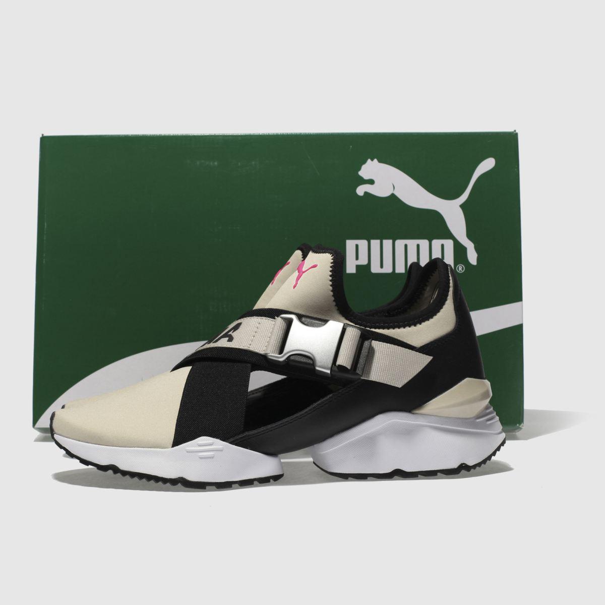 Damen Steingrau-schwarz Gute puma Muse Eso Sneaker | schuh Gute Steingrau-schwarz Qualität beliebte Schuhe 444881