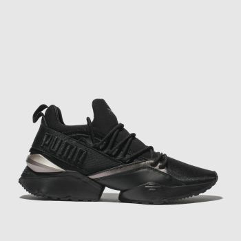Puma Black Muse Maia Cop Womens Trainers