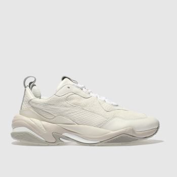 Puma White Desert Thunder Womens Trainers