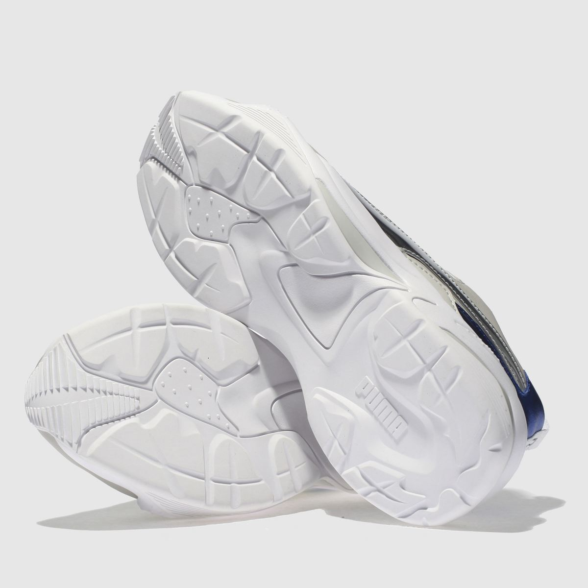 Damen Weiß-blau puma Thunder Electric Qualität Sneaker | schuh Gute Qualität Electric beliebte Schuhe afa168