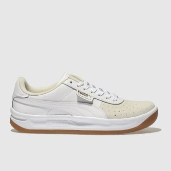 PUMA WHITE CALIFORNIA TRAINERS