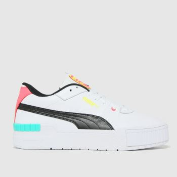 PUMA White Cali Sport Womens Trainers