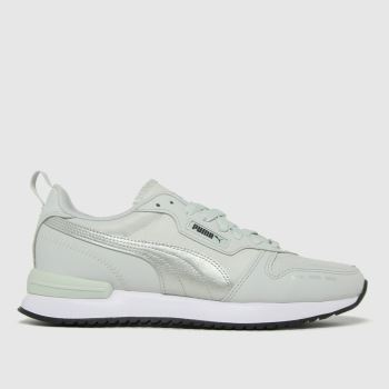 PUMA Grey R78 Metalic Fs Womens Trainers