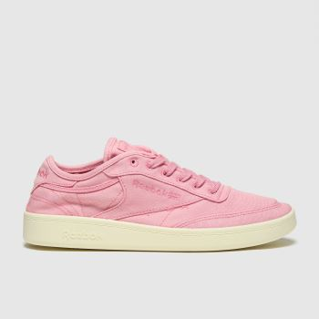 Reebok Pale Pink Club C C&c Womens Trainers