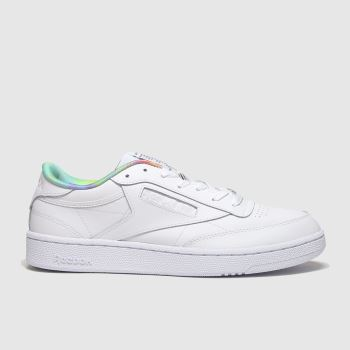Reebok White Club C 85 Pride c2namevalue::Womens Trainers