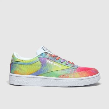 Reebok Multi Club C 85 Pride Womens Trainers