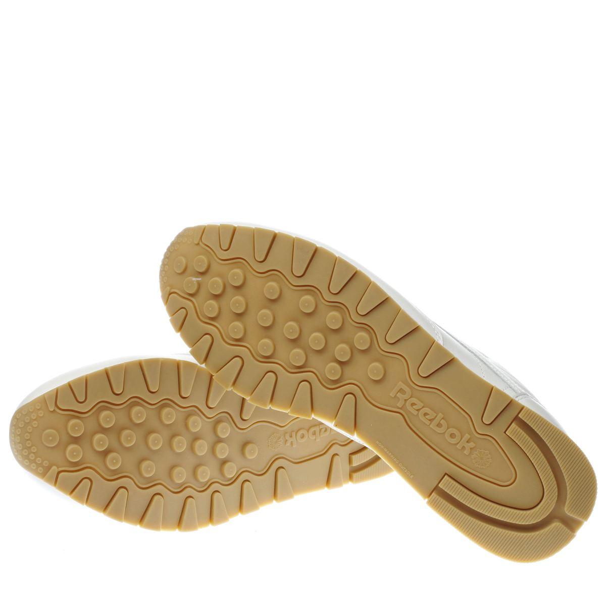 Damen Elfenbein reebok Classic Leather Zip Qualität Sneaker | schuh Gute Qualität Zip beliebte Schuhe a2632d