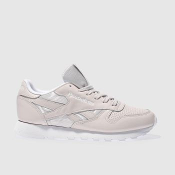 Reebok Pink Classic Leather Fbt Womens Trainers