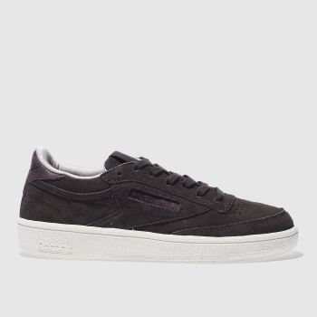 Reebok Purple Club C 85 W&W Womens Trainers