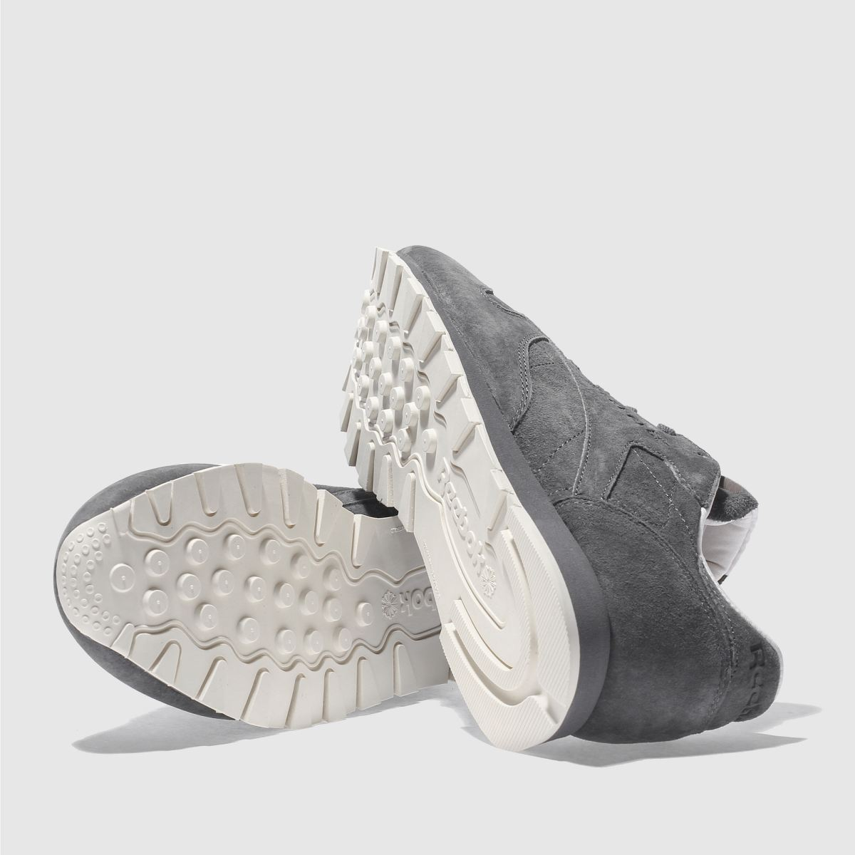 Damen Dunkelgrau reebok Classic Leather Tonal Nbk Sneaker beliebte   schuh Gute Qualität beliebte Sneaker Schuhe bd23ce