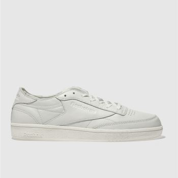 REEBOK STONE CLUB C 85 LEATHER TRAINERS