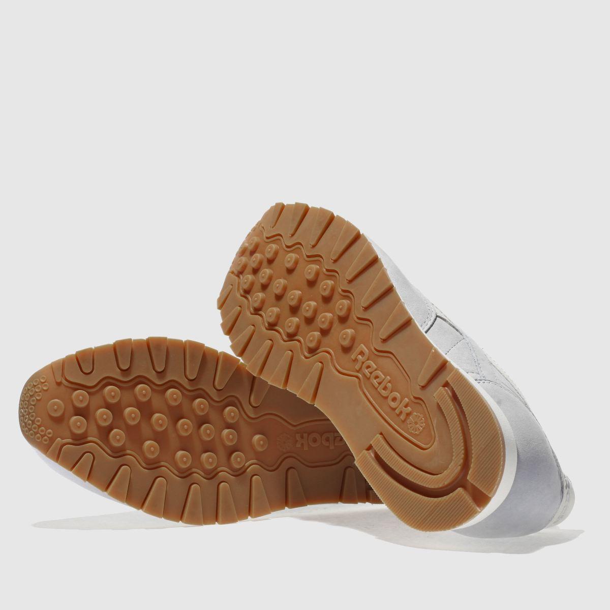 Damen Hellblau reebok Classic Leather Nubuck Sneaker | Schuhe schuh Gute Qualität beliebte Schuhe | 36ecfe