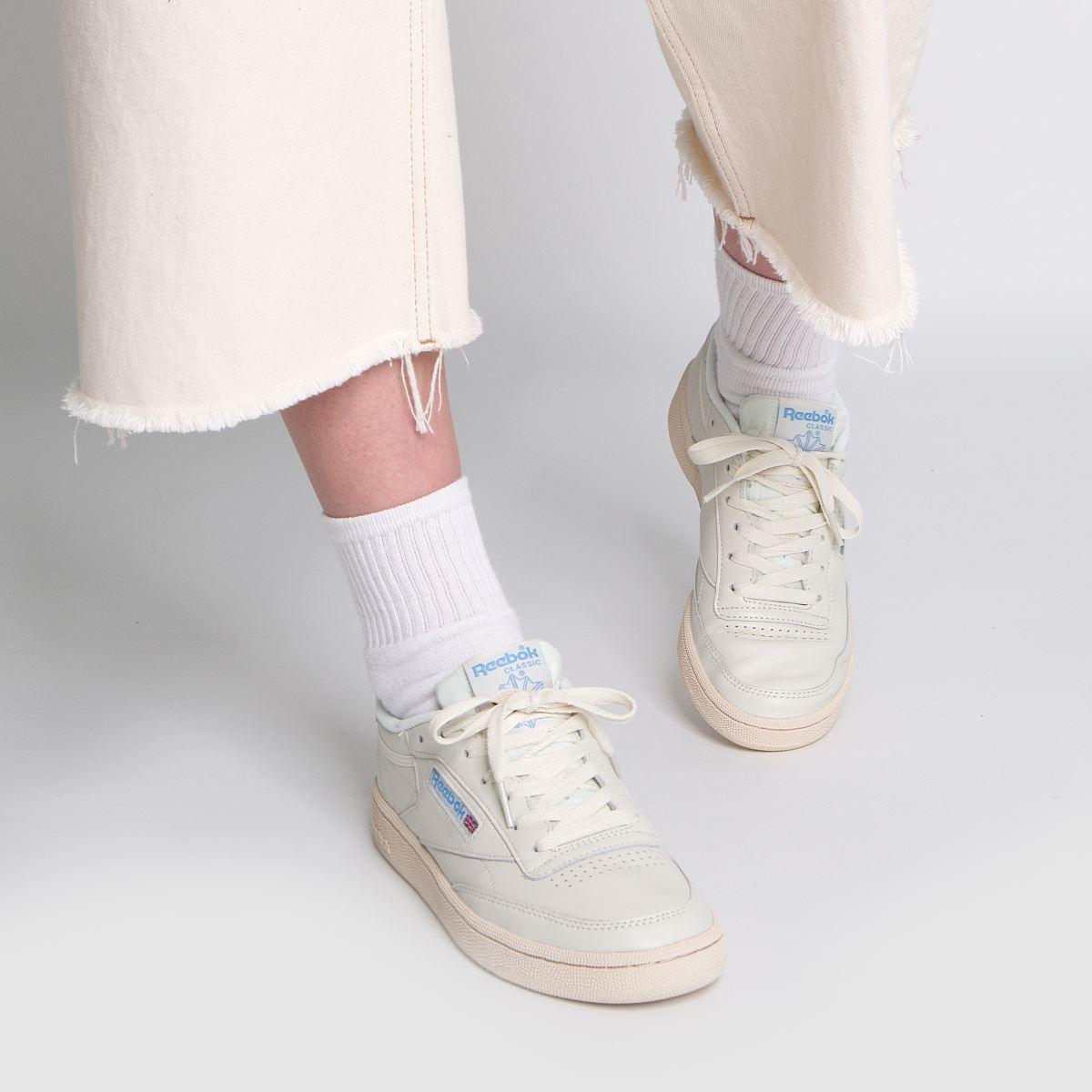 Damen Steingrau Sneaker reebok Club C Vintage Sneaker Steingrau   schuh Gute Qualität beliebte Schuhe c39d57