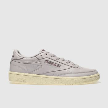 Reebok Lilac Club C Vintage Womens Trainers