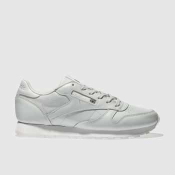 Reebok Pale Blue Classic Leather Womens Trainers