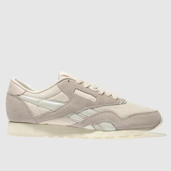 Reebok Pale Pink Classic Nylon Cold Pastel Womens Trainers