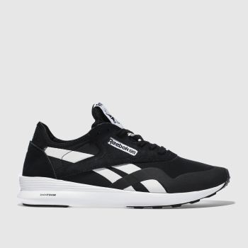 Reebok Black & White Classic Nylon Sp Womens Trainers