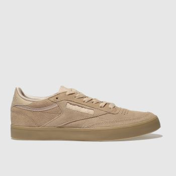 Reebok Pale Pink Club C 85 Fvs Gum Womens Trainers
