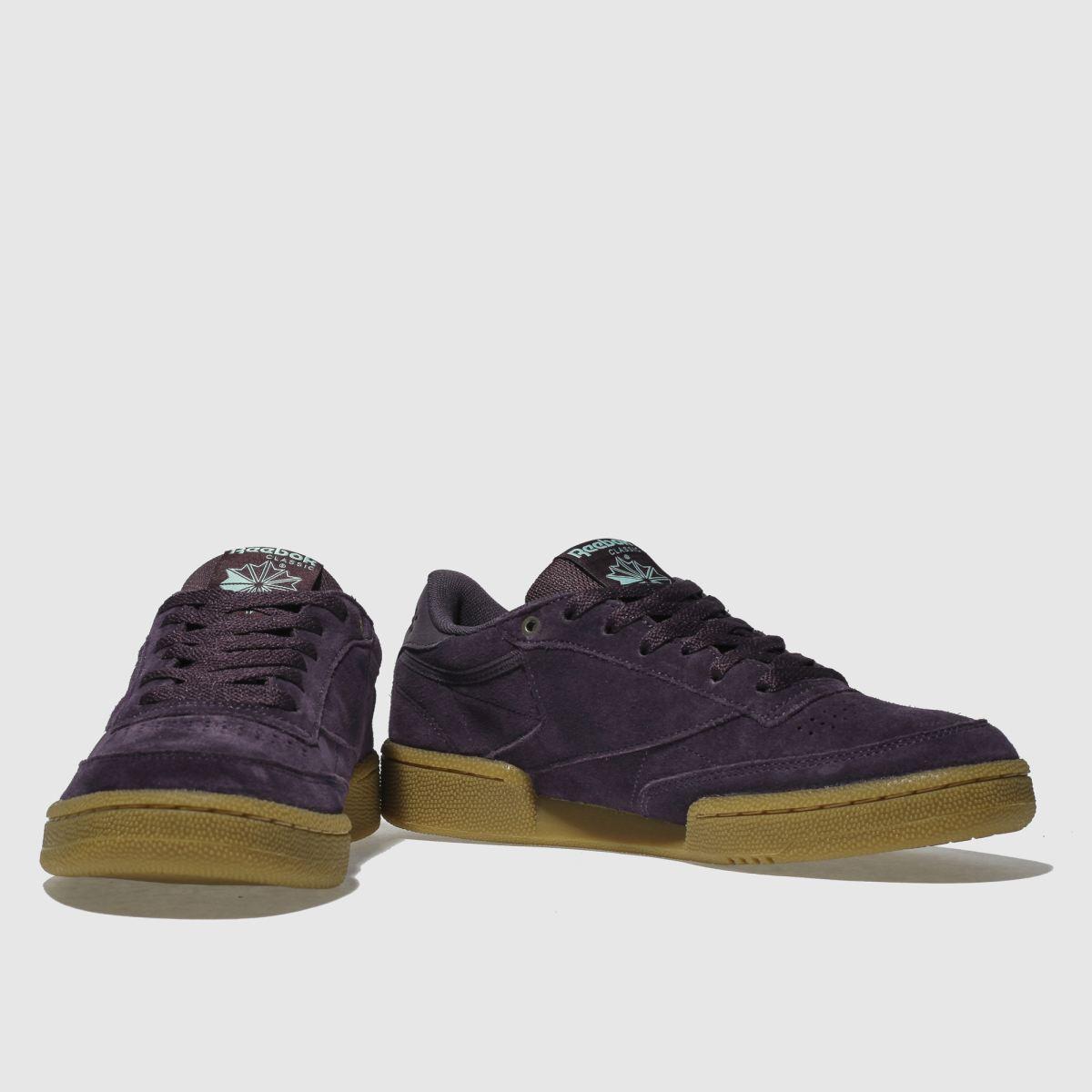 Damen Violett reebok Club C 85 Fvs Gute Gum Sneaker | schuh Gute Fvs Qualität beliebte Schuhe f948c1