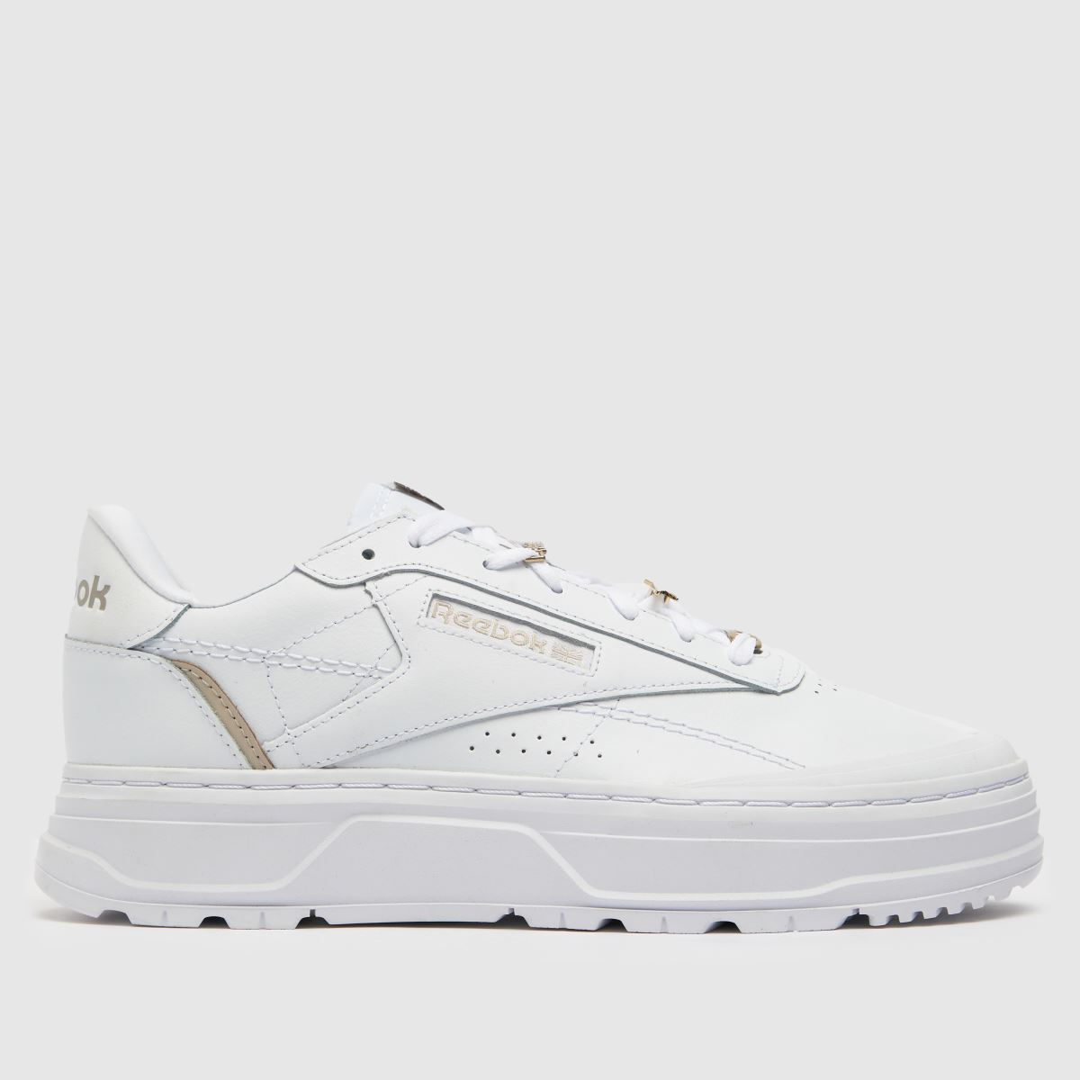 92356f37b583d4 Reebok White Classic Leather Double Trainers - Schuh at Westquay - Shop  Online