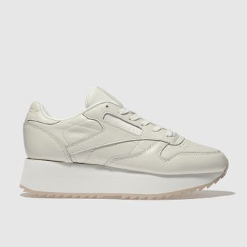 Reebok Stone Classic Leather Platform Womens Trainers