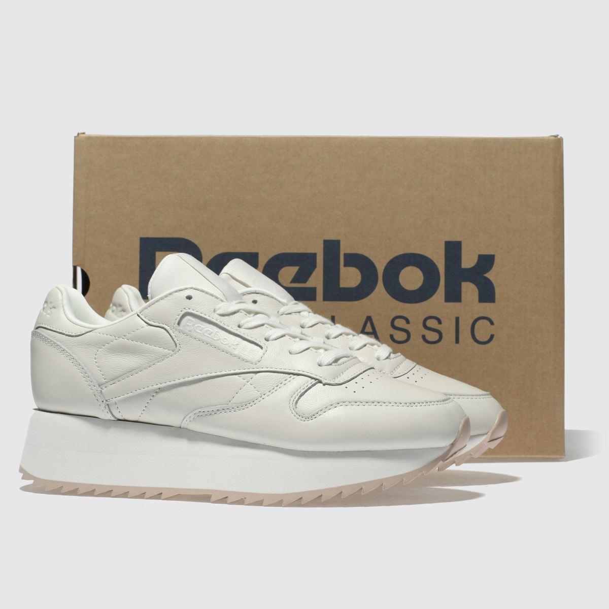 Damen Steingrau reebok | Classic Leather Platform Sneaker | reebok schuh Gute Qualität beliebte Schuhe b58982