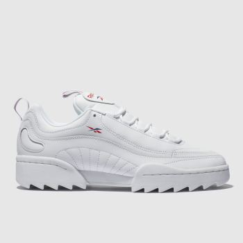 REEBOK WHITE RIVYX RIPPLE TRAINERS