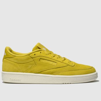 Reebok Yellow Club C 85 Womens Trainers
