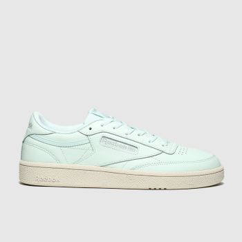 Reebok Light Green Club C 85 Womens Trainers