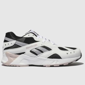 Reebok White & Black Aztrek Womens Trainers