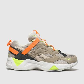 Reebok Beige-Orange Aztrek 96 Adventure c2namevalue::Damen Sneaker