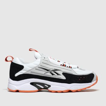 Reebok Black & Orange Dmx Series 2200 c2namevalue::Womens Trainers