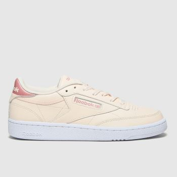 Reebok Natural Club C 85 Womens Trainers