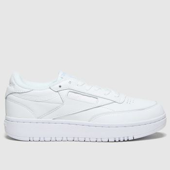Reebok White Club C Double Womens Trainers