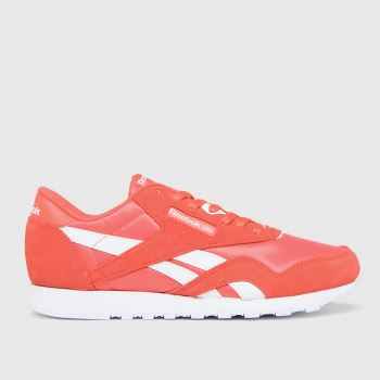Reebok Red Cl Nylon Womens Trainers