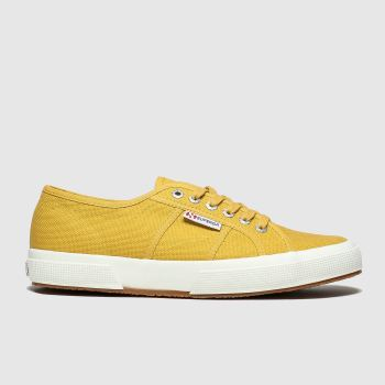 Superga Yellow 2750 Womens Trainers