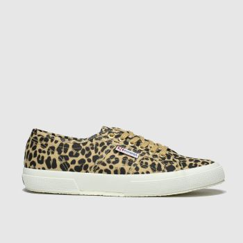 Superga Tan 2750 Womens Trainers