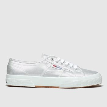 Superga Silver 2750 c2namevalue::Womens Trainers